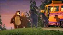 55 Медведь, Медведица и Волки 2