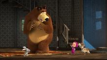 65 Зайка, Медведь и Маша-дрессировщица
