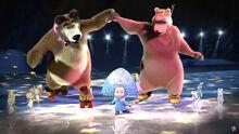 10 Танец на льду