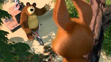 49 Белка, Медведь и Панда