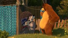 40 Медведь и Волки