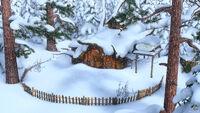 04 Дом Медведя зимой