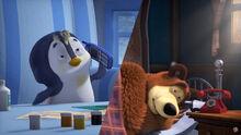 67 Пингвинёнок и Медведь