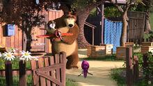 23 Маша Медведь и Пингвинёнок 3