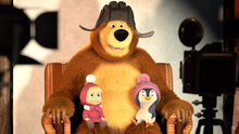 32 Маша Медведь и Пингвинёнок 3