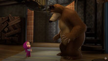02 Медведь и Маша