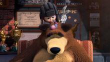 14 Маша Медведь и Зайка