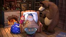 03 Маша Медведь и Дед Мороз 2