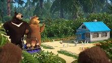 59 Медведица Гималайский медведь и Зайка