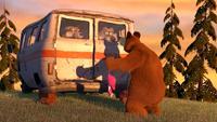 33 Медведь, Маша и Волки