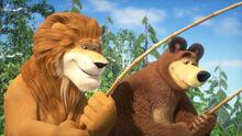 75 Медведь и Лев