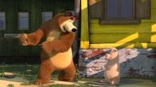 40 Медведь и Розочка