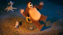 56 Медведь, Коза и Пёс