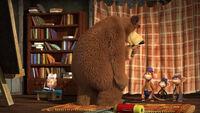 74 Маша Медведь и Обезьянки 2