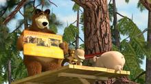 45 Медведь, Маша и Розочка