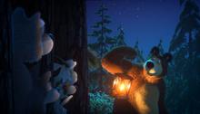 56 Медведь и лесные звери