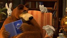 25 Медведь и Зайцы