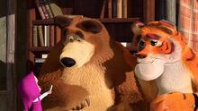 28 Медведь Тигр и Маша 3