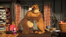 75 Маша Медведь и Лев
