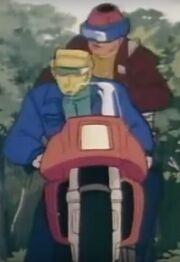 Firecracker motorcycle