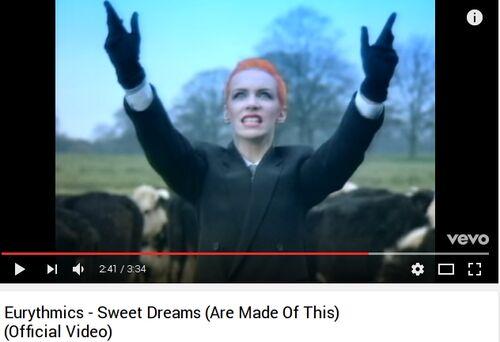 Eurythmics - Sweet Dreams (V)
