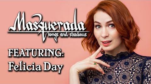 Masquerada Cast Reveal Felicia Day!