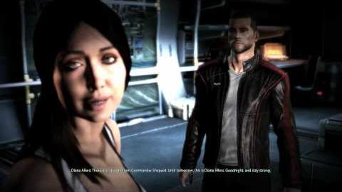 Mass Effect 3 Diana Allers Romance