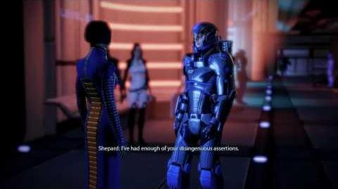 Mass Effect 2 - Punching the Reporter (again)