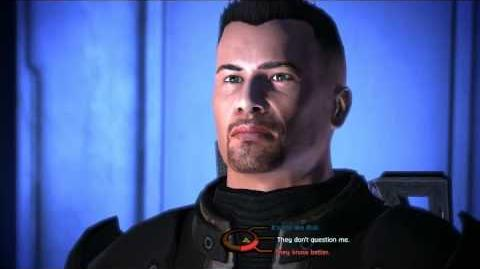Mass Effect - Punching the reporter