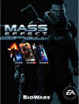 Mass Effect Trilogy Cover