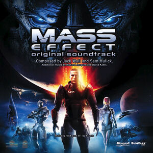 Caratula Mass Effect soundtrack