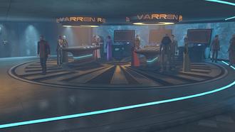 Зал бега варренов