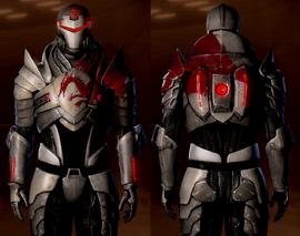 ME2 Blood Dragon-Panzerung