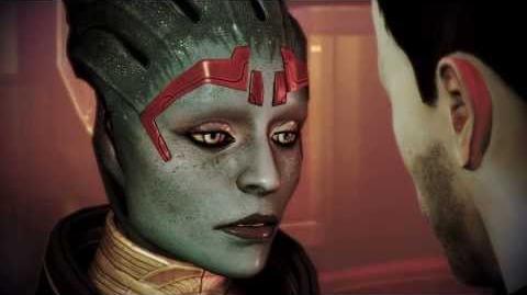 Mass Effect 3 Citadel. Встреча с Самарой