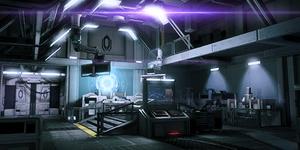 N7 - Cerberus-Labor (Speicherstand-Bild)