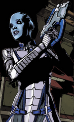 Liara looking for prothean artifact