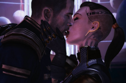 Tribute to jack and shepard citadel dlc by lovelymaiden-d5x0irm (2)