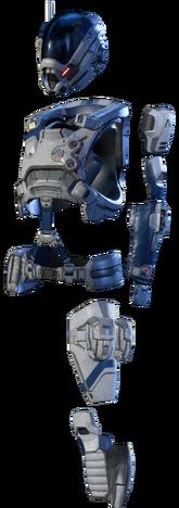 MEA Initiative Spearpoint Armor Set