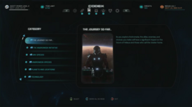 Mass Effect Andromeda Codex image1