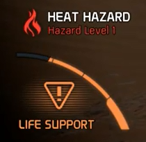 MEA Life Support With Hazard Level 1