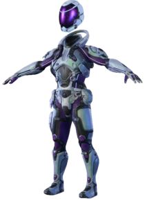 MEA Heleus Icon Armor Set