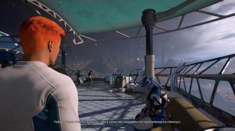Mass Effect Andromeda - Доп. квест (Ангарская Инициатива) (Обмен с Нексусом) Айя