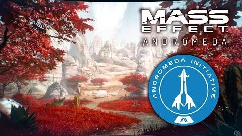 Andromeda Initiative Golden Worlds Briefing - Mass Effect Andromeda