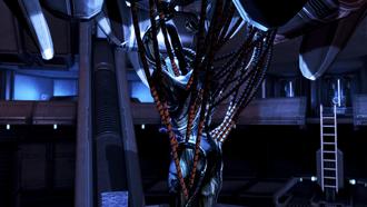 Geth dreadnought - shackled geth unit
