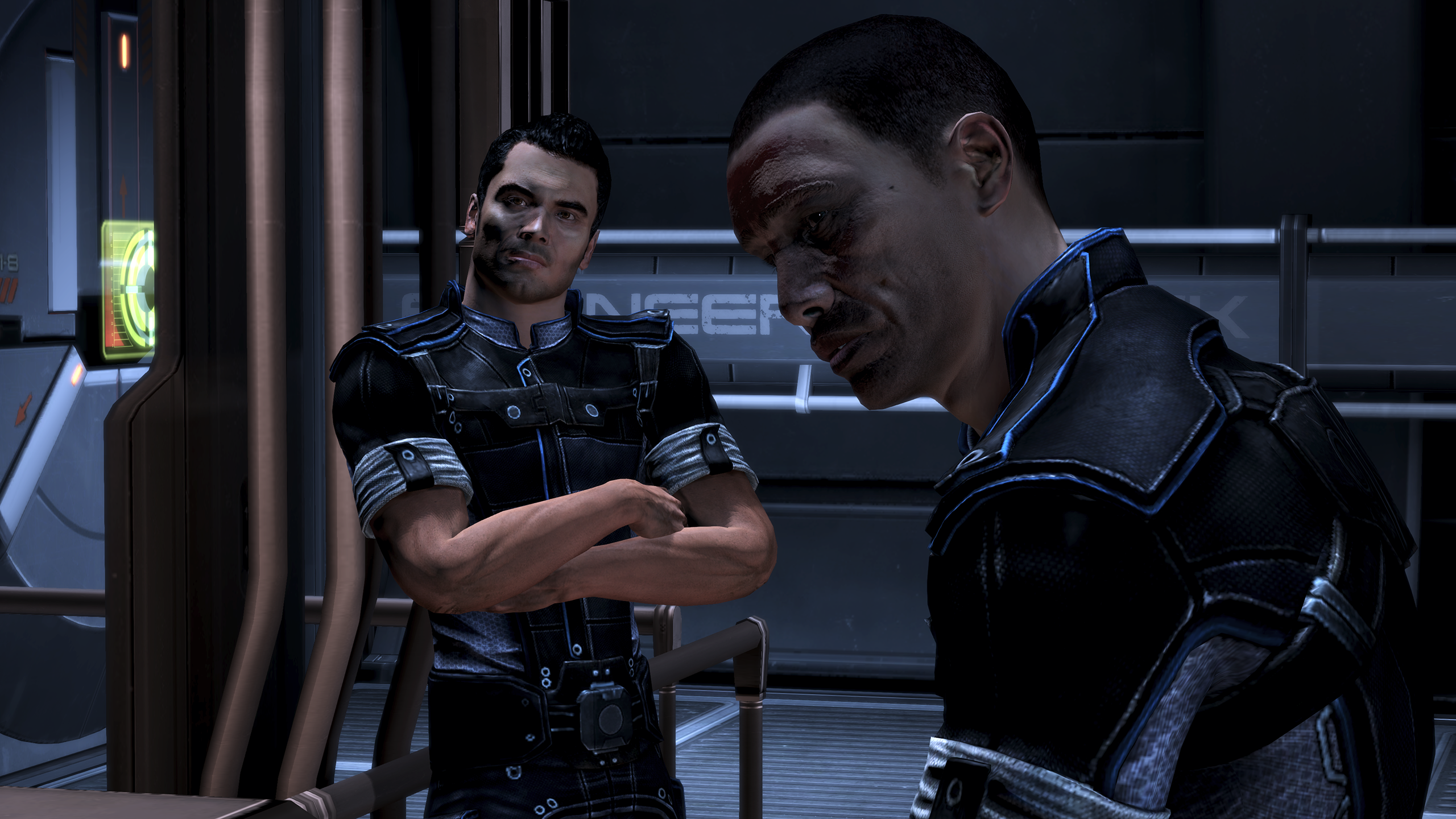 Can you hook up with ashley in mass effect 3