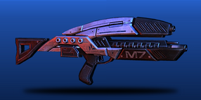 ME3 Lancer Assault Rifle