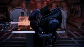 Garrus and tali romance