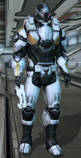 ME3 Cerberus Assault Trooper