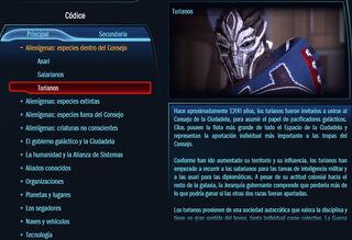 Códice Mass Effect versión web