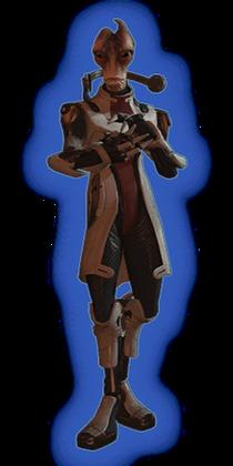 ME2 Mordin Loyal Outfit